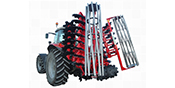 Disc cultivation and stubble unit SHARK, mounted hydraulically